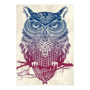 IGEMY DIY 5D Diamond Embroidery Painting Owl Animal Cross Stitch Craft Home Decor