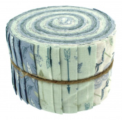 Fabric Freedom Little Dream 3 Jelly Baby Roll, 100% Cotton, Multicoloured, 9 x 9 x 7 cm