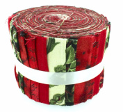 Fabric Freedom Renaissance Red Jelly Baby Roll, 100% Cotton, Multicoloured, 9 x 9 x 7 cm