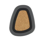 Pebble Trivet, BLACK / GREY