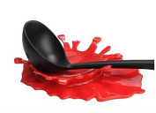 F-eshiat Spoat Rest Holder Silicate Ketchup Shape Holders for Kitchen Accessuchries, Spoats, Spatula, Brushes, Cutlery