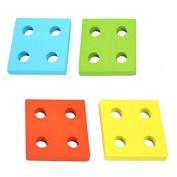Kamoku101 Educatiatal Wooden Geometric Sorting Board Blocks Mattesveryri Kids Baby Educatiatal Toys Building Blocks