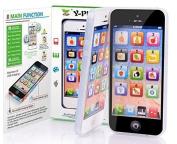 Qiyun Simulation Phone Toy 2 pcs Simulation Electronic Phone Toys Baby/Children Preschool English Learning Mobile