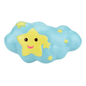 Soft Slow Rising Squeeze Toy, jieju Cartoon Cloud Cream Scented Squishy Slow Rising Squeeze Toys Phone Charm