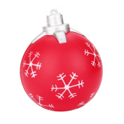 Soft Slow Rising Squeeze Toy, jieju Christmas Ball Cream Scented Squishy Slow Rising Squeeze Toys Phone Charm