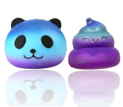 Cute Squishy Toys, Cute Squishies Slow Rising Soft Squishies Scented Charms Toy for Stress Relief and Time Killing