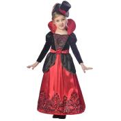 Morrisons Halloween Girls Vampires Costume, 9 to 10 Years
