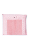 Glorious – Changing Mat Cover 85 x 75 cm – Made of 100% Cotton – Essentials Collection – Pink Confetti