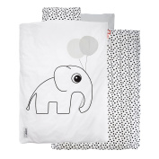 Dots baby bedding set White - Done by deer