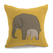 HJHET Stylish minimalist Christmas reindeer animal sofa Office cushion Pillow (without core), C