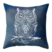 display08 Cartoon Feather Dreamcatcher Print Pillow Case Cushion Cover Home Sofa Decor