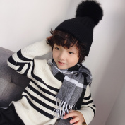 Autumn and Winter Imitation Cashmere Children's Scarves Gifts Scarves Boys and Girls All Match Scarves