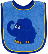 'The Show with The Blue Elephant – Bib for Boys and Girls Bib Elephant
