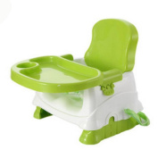 YINGER Baby Booster 3-in-1 Seat with Activity Tray Collapsible Multifunction Portable Snug