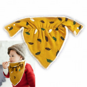 Winter Baby Scarves Plus Velvet Padded Fashion Scarf Thickened Men and Women Baby Scarf Bibs Cotton