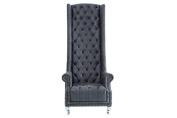 Casa Padrino Baroque throne chair antique grey - Throne chair