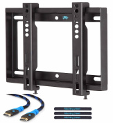 Mounting Dream MD2351-02 Ultra Slim TV Wall Mount Bracket for most 26-42 Inch LED, LCD Flat Screen TV up to VESA 200 x 200mm and 30 KG (66 LBS) Loading Capacity