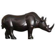 Modern simple resin rhinoceros decorated living room TV cabinet fashion decorations, A / 600G, 26 * 30 * 12CM
