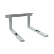 CONECTO CC50303 Universal Mikrowellenh Holder Wall Mount Adjustable Arm (385 – 535 mm) Silver