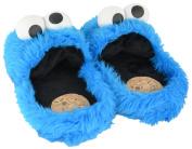 Krümmel Monster Slippers 38-40 Plush Shoe Slippers Soft Toy Plush Toy Sesame Street Cookie Monster