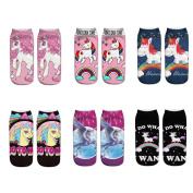 Cute Unicorn Socks Casual Socks Pattern Socks for Children and Ladies Women