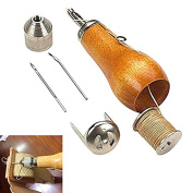 Scoolr Sewing Awl Kit,Speedy Stitcher Sewing Awl Tool Kit for Leather Sail & Canvas Heavy Repair