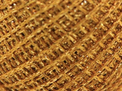 1mm Gold Rush Decorative Glitter Thread 80m Dark Gold - per 20 gramme ball