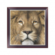 Dairyshop Lion Animal DIY 5D Diamond Embroidery Painting Cross Stitch Art Craft Home Decor