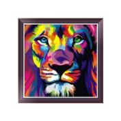 Dairyshop DIY 5D Diamond Painting Animal Lion Embroidery Cross Stitch Art Craft Home Decor