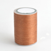 78m/85yards Spool 0.8mm 10 Colours Flat Sewing Leather Waxed Waxing Thread For Leather Craft DIY Shoes Purses Luggage Tents