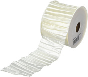 Vivant Plisse Ribbon, Cream