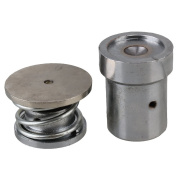 WEONE Silver Tone Heavy Duty Metal Fabric Covered Button Hand Press Machine Dies Mould Tool