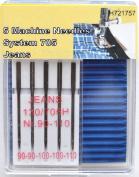 TSL 5 x Jeans machine Needles, Transparent