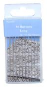TSL Short Darning Needles, Silver, 43 - 57 mm, 10-Piece