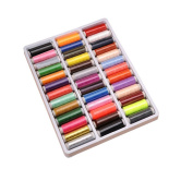 39 Spools 200 Yard Arts Crafts Sewing Thread Stitch Trimming Thread Box Kit Set Ideal For Hand Machine Sewing