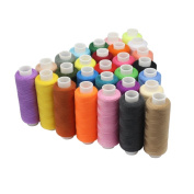 SelfTek 30 Assorted Colour Sewing Thread Hand Polyester Thread