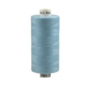 Coats Moon Spun Polyester Sewing Thread 1000 Yards - M100 - Baby Blue
