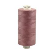 Coats Moon Spun Polyester Sewing Thread 1000 Yards - M075 - Light Plum