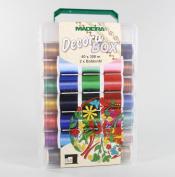 Tacony Madeira Decora No. 12 Thread Sampler, Multi-Colour