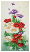 Morning Breath Counted Bead Embroidery Kit 28x52 cm