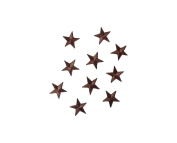 Make It Magical Crafts & Gifts® Gold Silver Red Green Blue Orange Black Pink Yellow Brown Iron on Stars Sew on patch applique