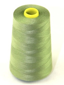 Budget 120's Polyester Sewing Thread Cone 4500m Sage Green - each