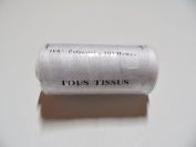 Spool of Sewing Thread 100% Polyester 500 Metres White