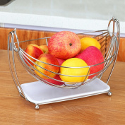 Stainless Steel Fruit Basket Fruit Tray Plate Cradle Of Creativity Living Room Fruit Bowls