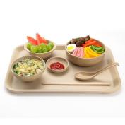 Wooden Fruit Plate Creative Green Tea Plate Glass Fruit Tray Plate