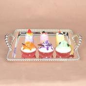 European Cake Plates Dessert Plate Creative Fruit Bowl Cup Tray