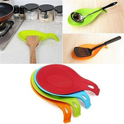 F-eshiat Spoat Rest, Kitchen Silicate Spoat Holders for Kitchen Accessuchries, Spoats, Spatula, Brushes, Cutlery
