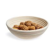 Black Velvet Studio Bowl Breakfast Natural colour natural, handcrafted, round design Rattan 8 x 25 x 2 5cm