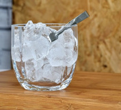 Transparent, Glass Ice Bucket | Sugar Bowl & Tongs 11 x 11cm Honey
