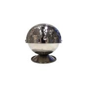 Saveur et Degustation ka1582 Stainless Steel Hammered Sugar Bowl 11, 10, 50 x 50 x 11 cm